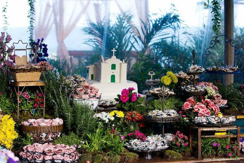 mesas de casamento no jardim ? Doitri.com