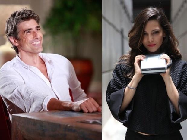 """12.fev.2014 - Reynaldo Gianecchini e Tainá Muller estreiam na novela """"Em Família"""" como Cadu e Marina"""