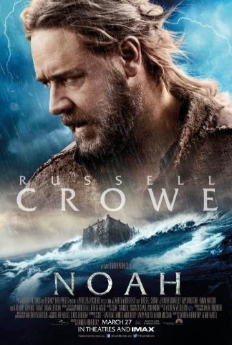 "Russell Crowe aparece em pôster internacional de ""Noé"""