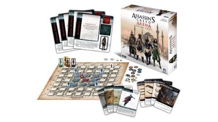"""""""Arena"""" é jogo de tabuleiro inspirado pelo modo multiplayer da série """"Assassin's Creed"""""""