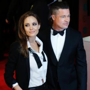 Angelina Jolie tem seis filhos com o ator Brad Pitt