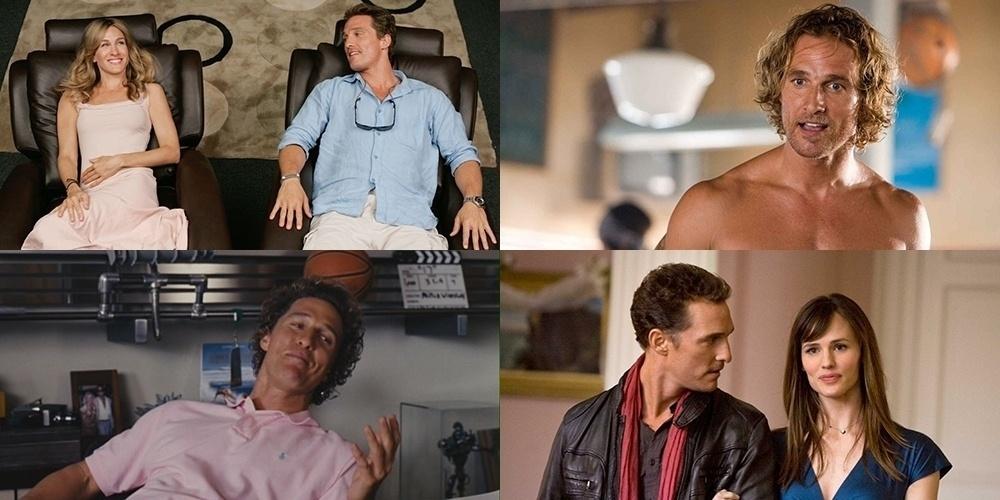 Matthew McConaughey em quatro comédias