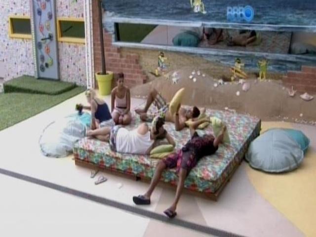 19.fev.2014 - Fran, Clara, Cássio, Marcelo e Valter contam como entraram no programa
