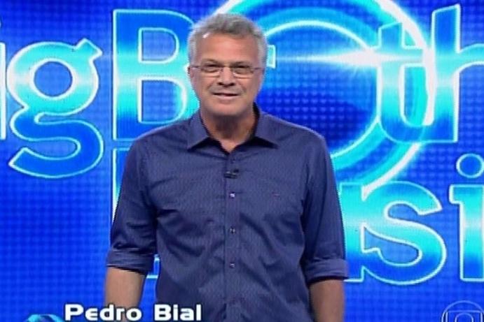 20.fev.2014 - Bial inicia a edição do programa, que irá definir o novo líder da semana