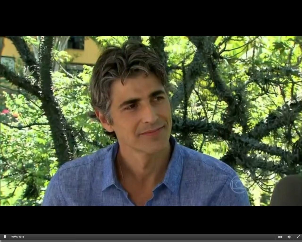 20.fev.2014 - Reynaldo Gianecchini fala sobre o sucesso dos cabelos grisalhos em entrevista ao