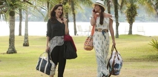 """Aparecerá um clima de romance entre Marina e Clara """"Em Família"""""""