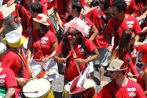 Desfile do Empolga às 9 em Copacabana, em 2012