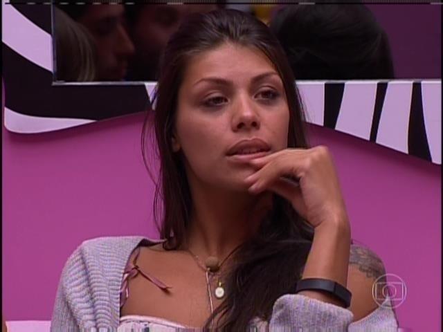 23.fev.2014 - Franciele quis saber de quem foi o voto de Marcelo