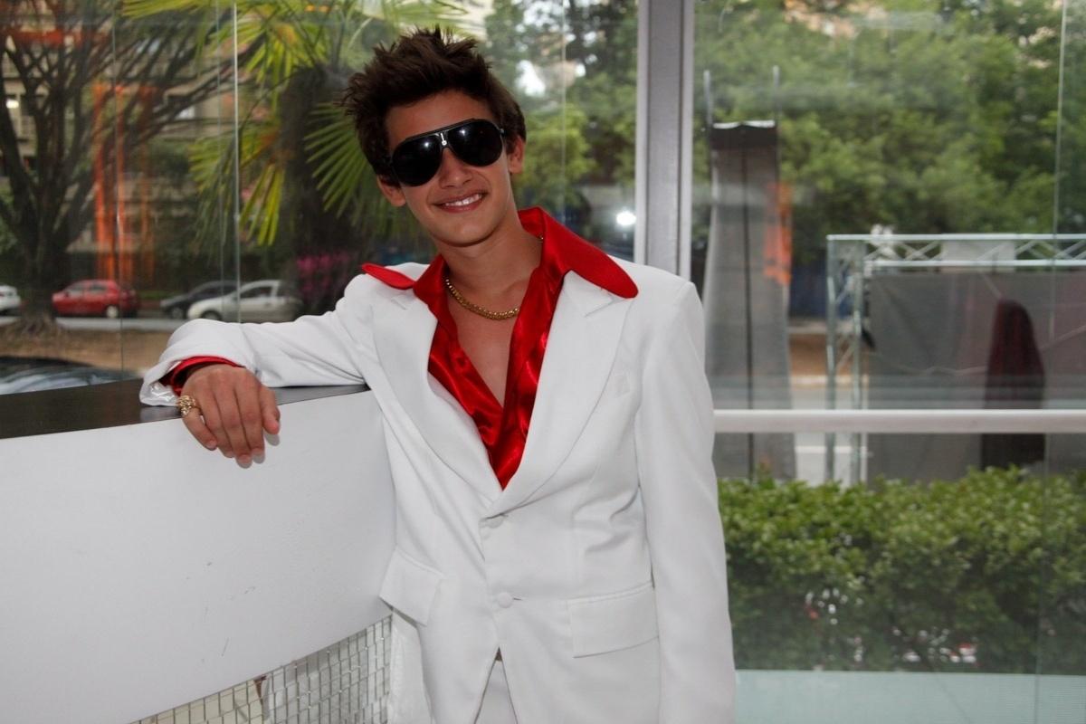 24.fev.2014 - Filipe Bragança, ator de