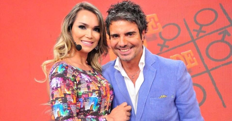 João Kelber e Eliana Amaral estão namorando