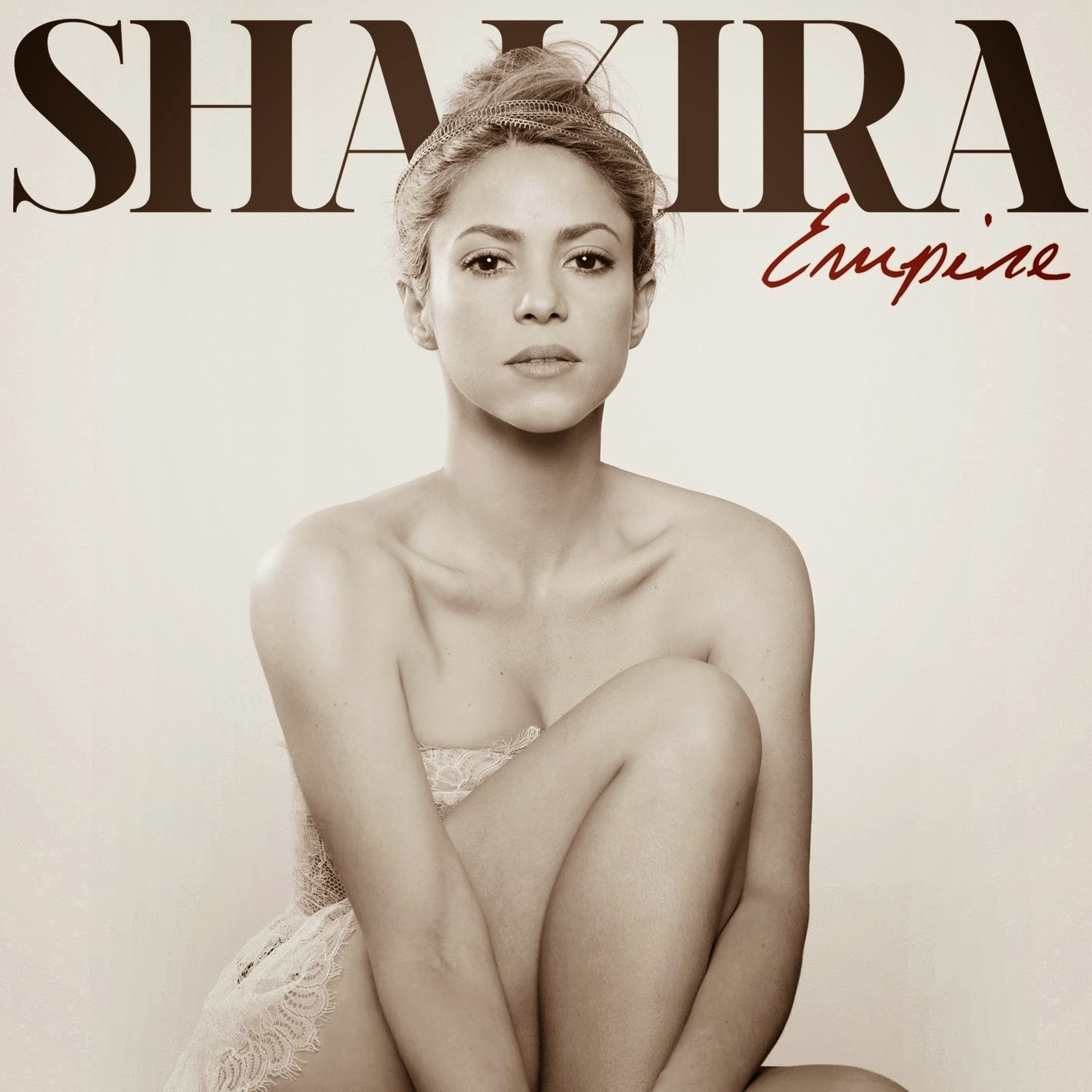 Shakira posa para capa do single