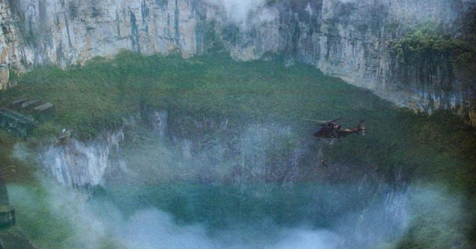 """Cena de """"Godzilla"""", do diretor Gareth Edwards"""
