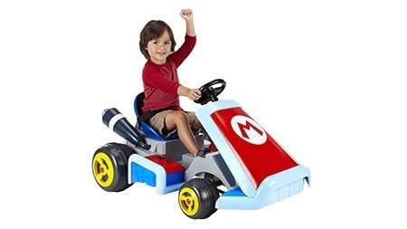 """O carrinho inspirado em """"Mario Kart"""" será vendido nas lojas Toy R Us por US$ 200"""