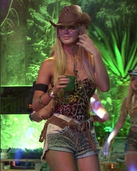 22.jan.2014 - Tatiele na Festa Perdidos na Selva