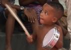Crian�as mostram talento no samba e contam por que adoram o Carnaval