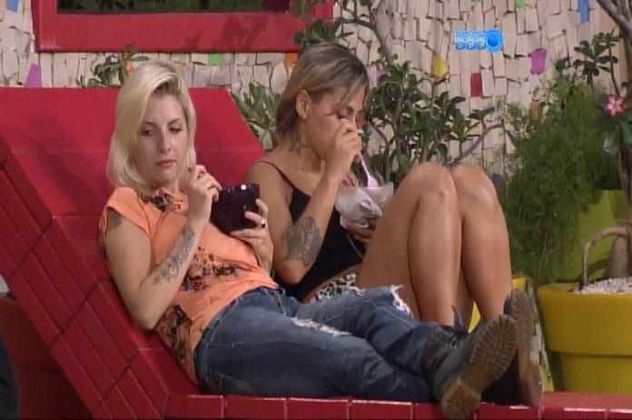 2.mar.2014 - Para justificar voto de hoje, Vanessa se recorda de episódio com Cássio: