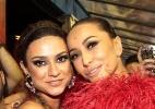 Sabrina Sato posa com Thaila Ayala após as duas desfilarem pela Gaviões - Paduardo/AgNews