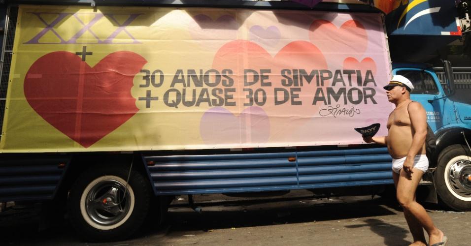 2.mar.2014 - Simpatia é Quase Amor celebra 30 carnavais