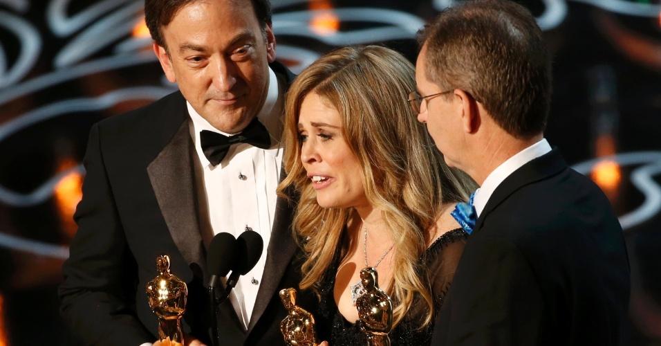 """""""Frozen"""" recebe Oscar de Melhor Animação 2014"""