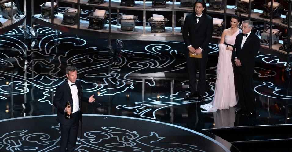 """Spike Jonze recebe Oscar de Melhor Roteiro Original pelo filme """"Ela"""""""