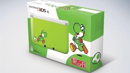 Edição especial do portátil terá estampa com o mascote dinossauro da Nintendo