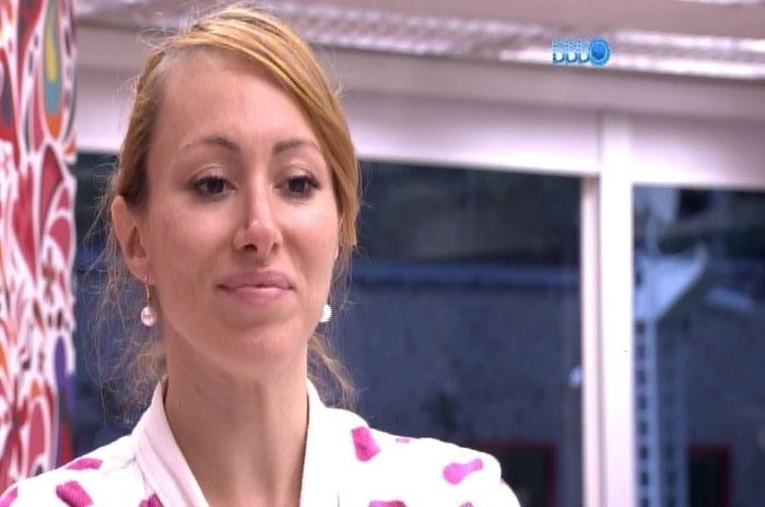 04.mar.2014 - Em pé de guerra com Marcelo, Aline diz que não aceitará desaforos de Marcelo
