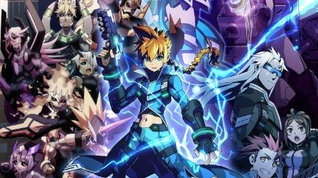 """""""Azure Striker Gunvolt"""" traz um personagem que é capaz de controlar a eletricidade"""
