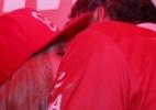 Susana Vieira beija muito e assume namoro com ex-prefeito na Sapucaí - Felipe Panfili/AgNews