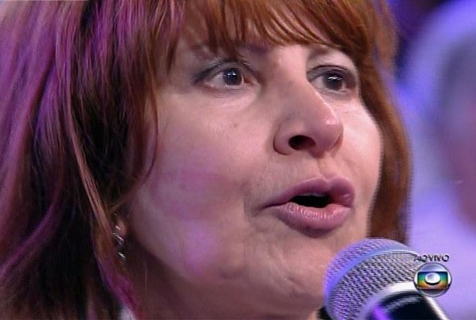 10.mar.2014 - Com 80% dos votos, Aline é anunciada como a décima segunda eliminada de
