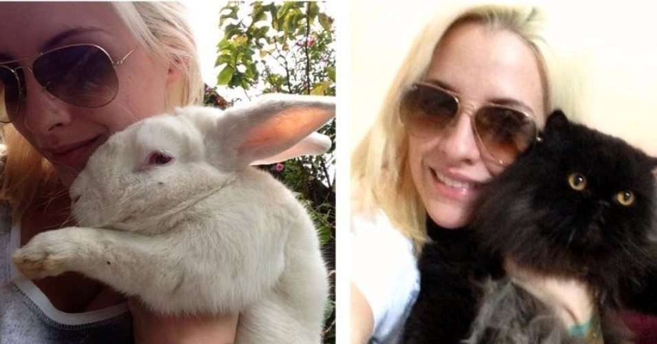 Amiga de Clara conta que ela tem dois gatos machos, mas um tem nome de mulher