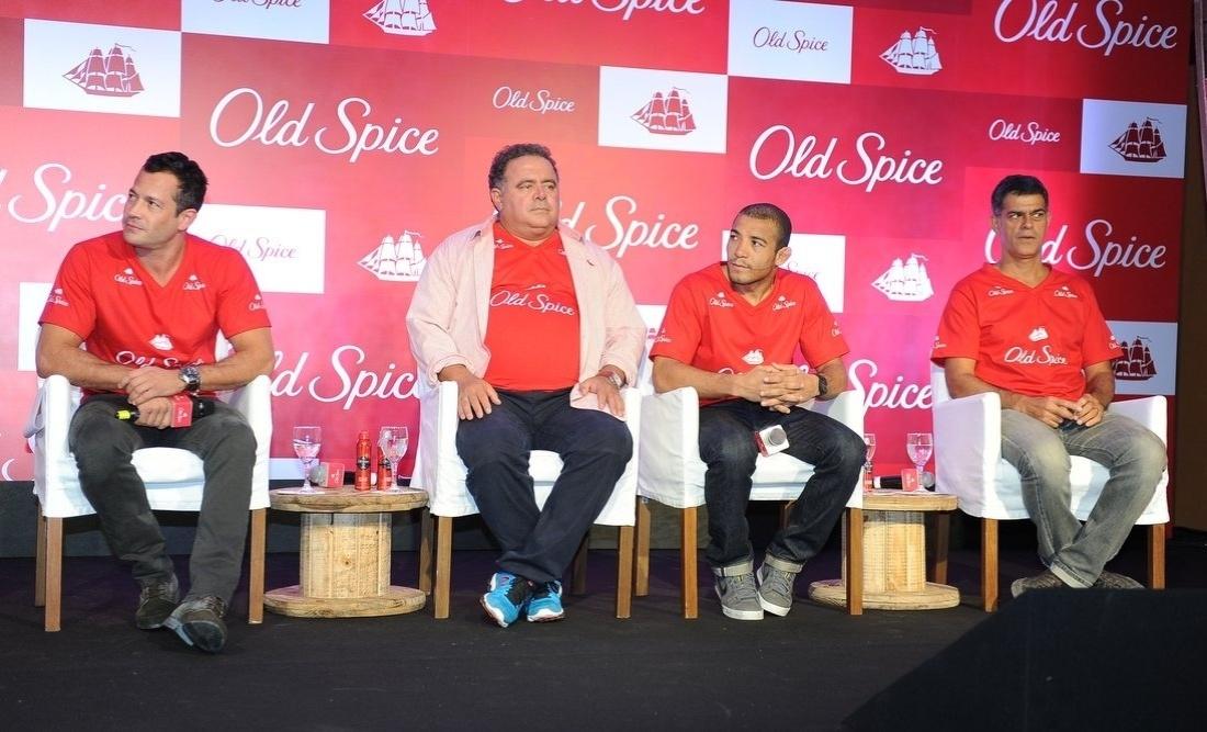 12.mar.2014 - Malvino Salvador participou do lançamento de uma marca de desodorante masculino, em São Paulo