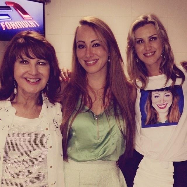 A melhor amiga de Aline, Laura Caye, desejou sucesso à atriz: