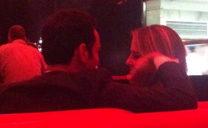 12.mar.2014 - César Tralli e Ticiane Pinheiro no restaurante Spot JK em SP