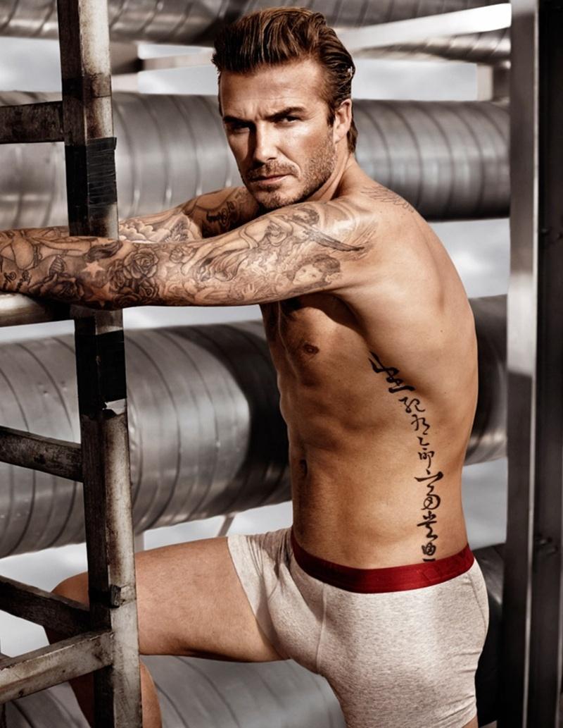 David Beckham posa para a campanha de Verão 2014 da H&M Underwear