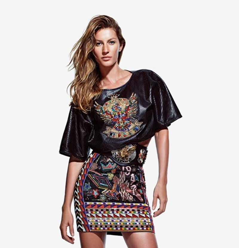 Gisele Bündchen estrela a campanha de Verão 2014 de Emilio Pucci