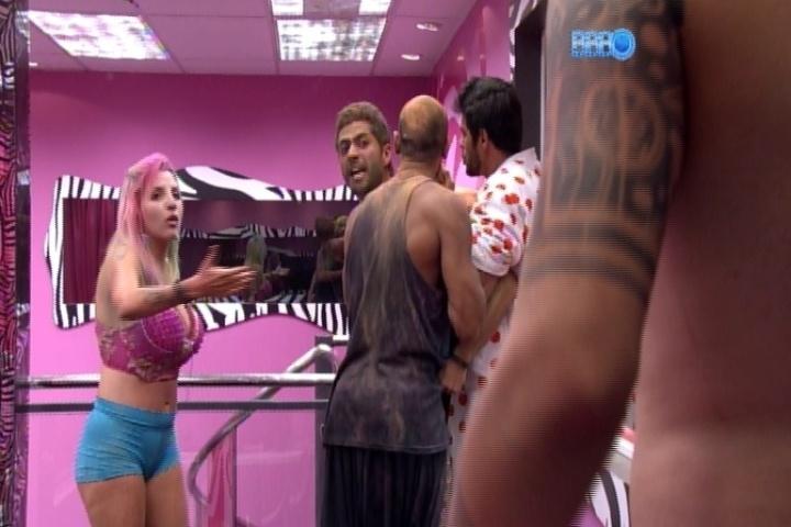 Marcelo x Cássio, quando discutiram por Angela