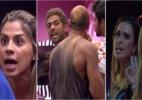 """Qual foi o pior barraco do """"BBB14"""" até o momento? - Reprodução/TV Globo"""