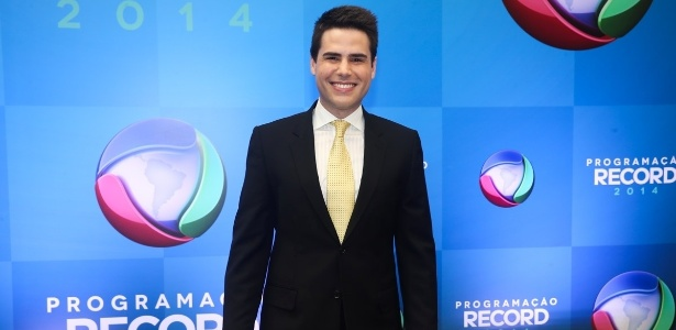 """Luiz Bacci, que volta ao """"Balanço Geral"""", depois de passagem mal sucedida pela Band"""