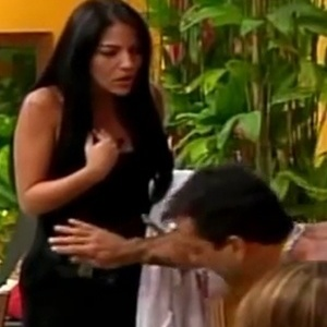 Anamara e Marcelo Dourado discutem no