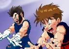 Pai cria anima��o em que filho luta contra vil�es de 'Dragon Ball Z'