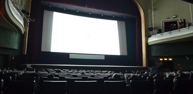Interior da sala do Cine Odeon na Cinelândia, no Rio de Janeiro