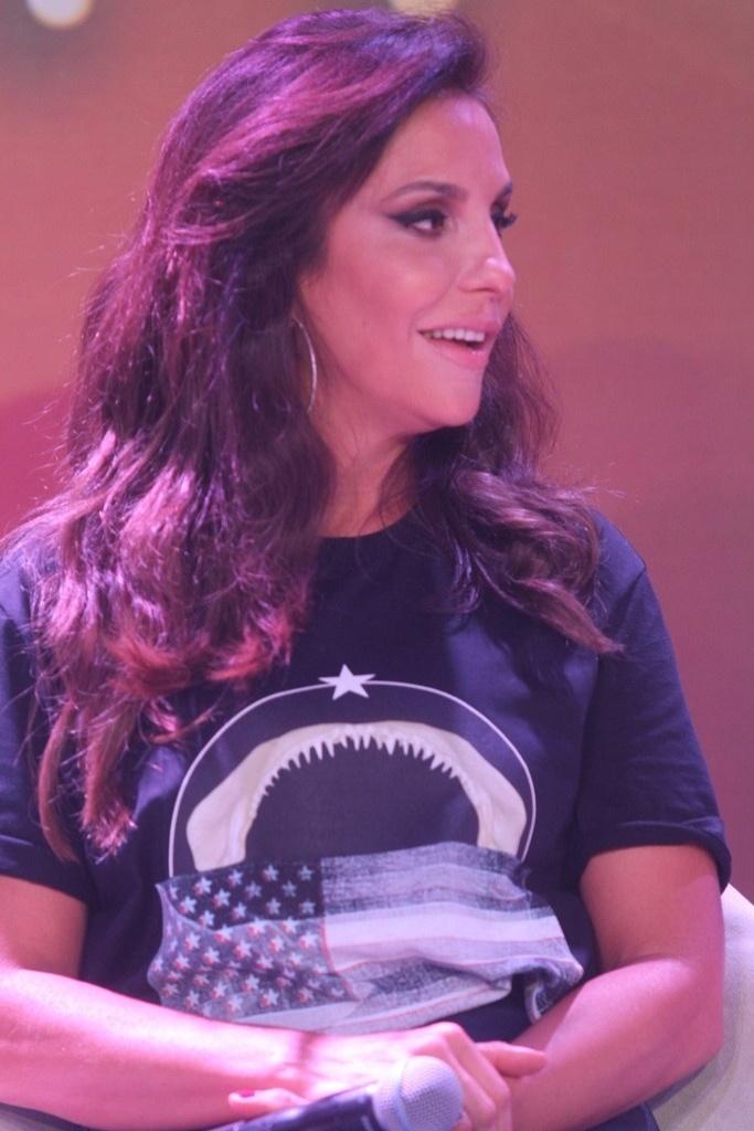 26.mar.2014 - Ivete Sangalo faz parte do júri de