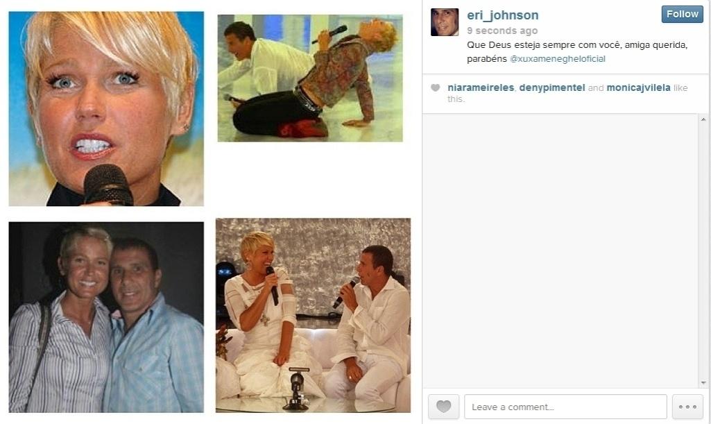27.mar.2014 - Eri Johnson também não esqueceu a amiga e a homenageou no Instagram.