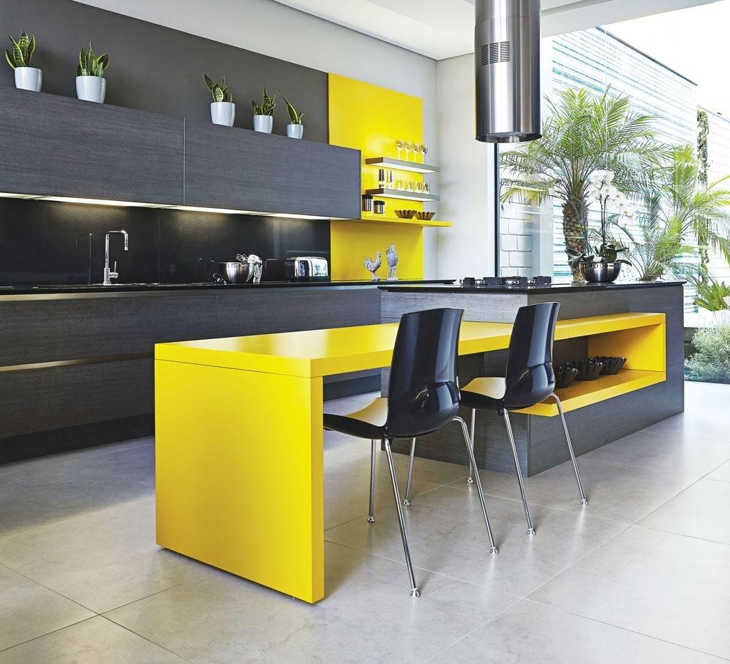 Inspire se em modelos de cozinha para decorar a sua #B3A418 1024 932