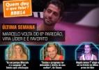 """Confira fotos do 75º dia de confinamento do """"BBB14"""" - Reprodução/TV Globo"""