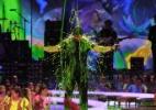Artistas levam banho de gosma verde no pr�mio Kids' Choice Awards de 2014