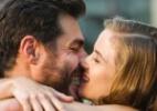 """Em """"Joia Rara"""", Toni pede perdão para Hilda e os dois se beijam - Reprodução/Joia Rara/Gshow"""