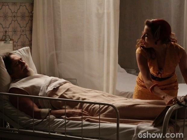 Dália teme que Ernest tenha outro infarto se souber que a neta foi sequestrada