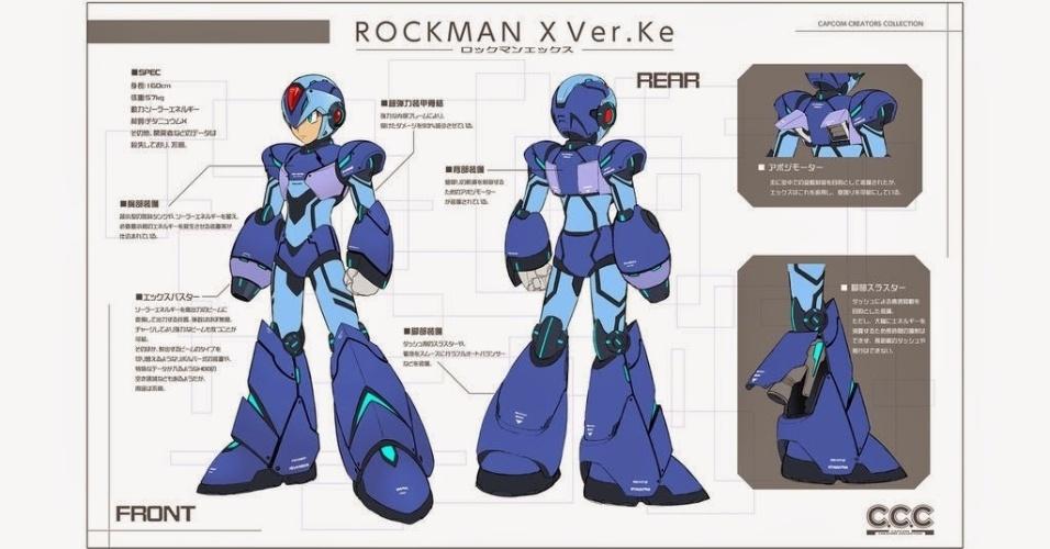 Era pra ser só uma brincadeira da Capcom, mas o boneco especial de Mega Man X chamou atenção que a produtora tirou a página do ar - o que não agradou em nada os fãs do herói azul...