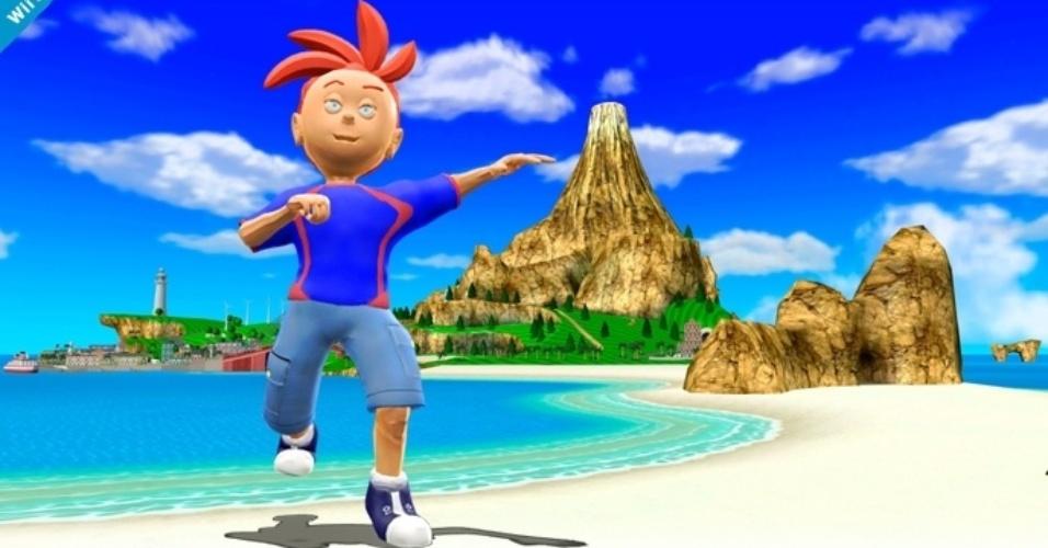 Fãs criaram imagens mostrando o personagem Nester - da extinta Nintendo Power - como lutador de
